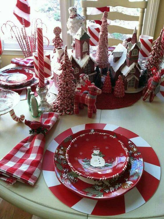 Декор новогоднего стола