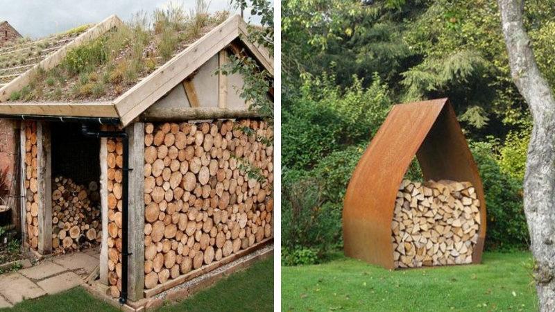 Как сложить дрова