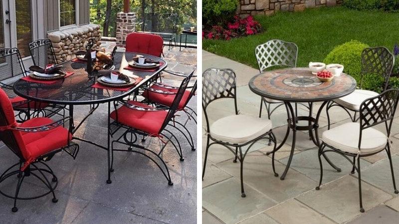 Кованые стулья для столовой