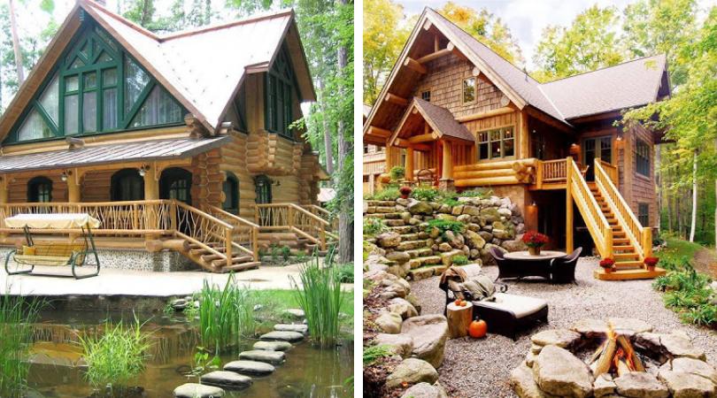 дом в сельском стиле