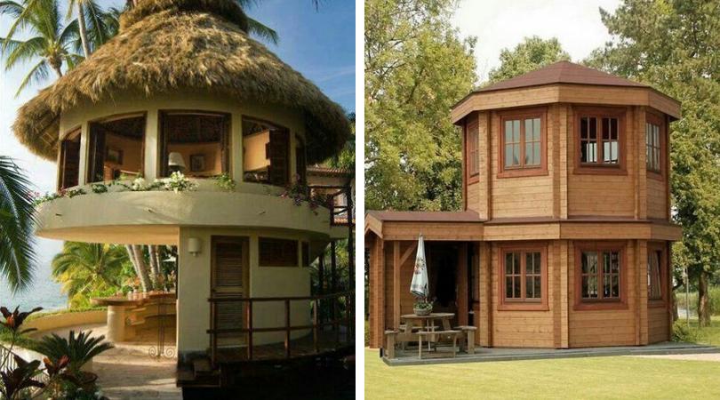 дизайн круглого дома