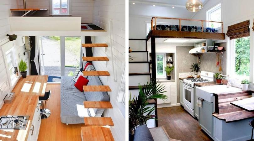 Спальня в маленьком доме