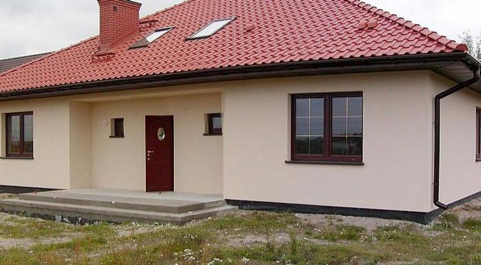 Фасады одноэтажных домов