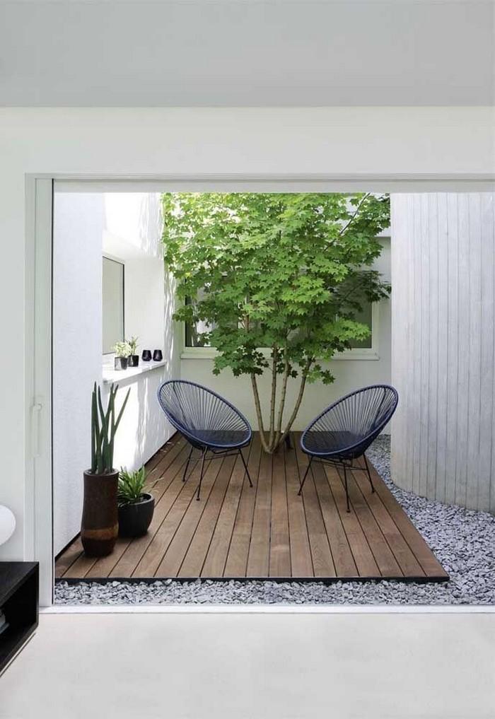 ландшафтный дизайн маленького двора