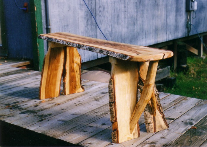 деревянные лавочки