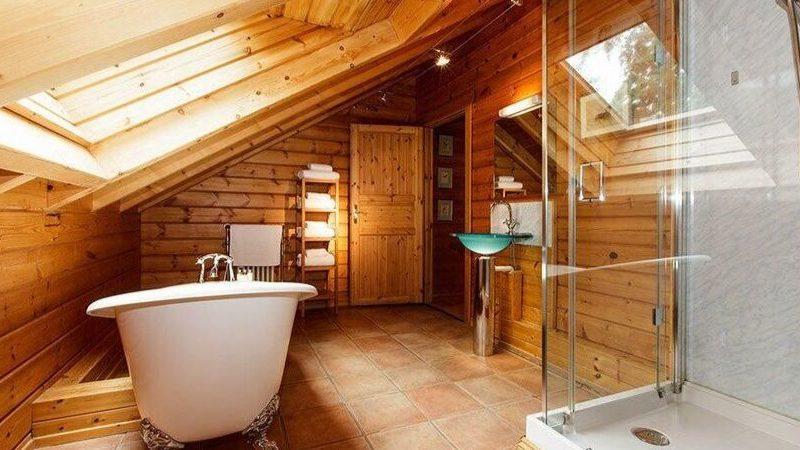 дизайн ванной в частном доме