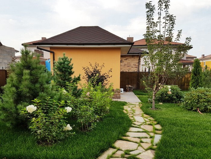 дизайн садового участка