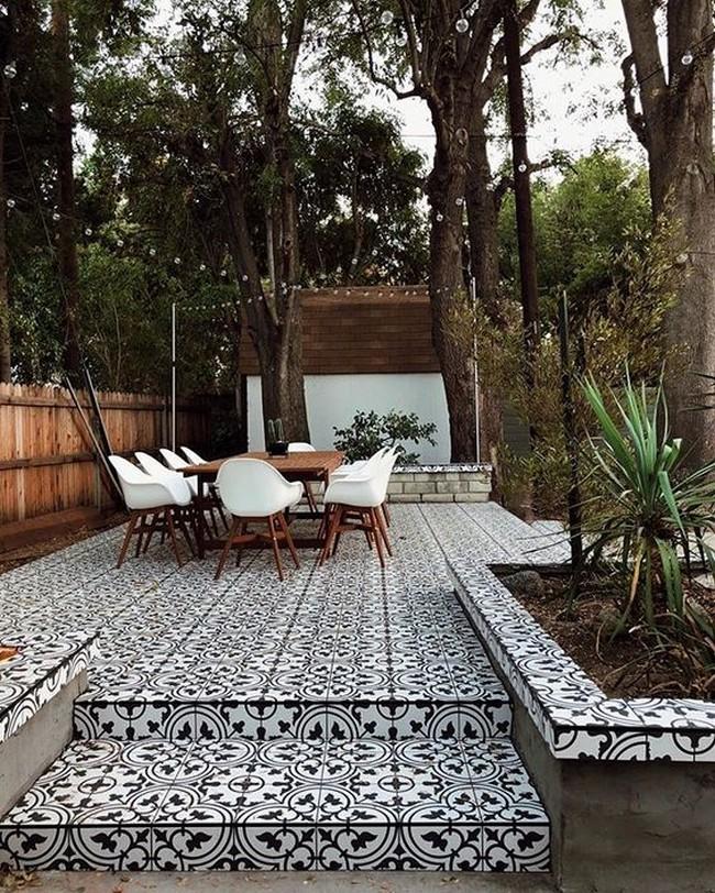 плитка для двора