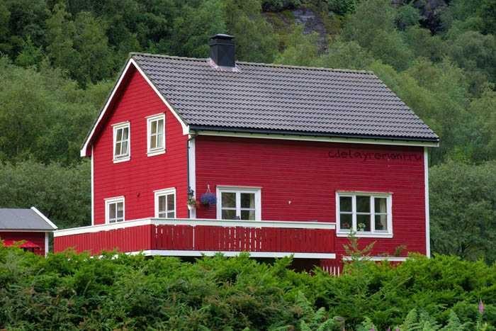 красивые фасады домов