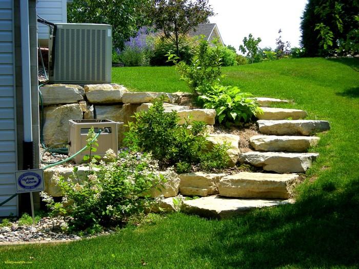 лестница из камня