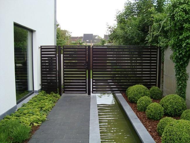дизайн двора возле дома