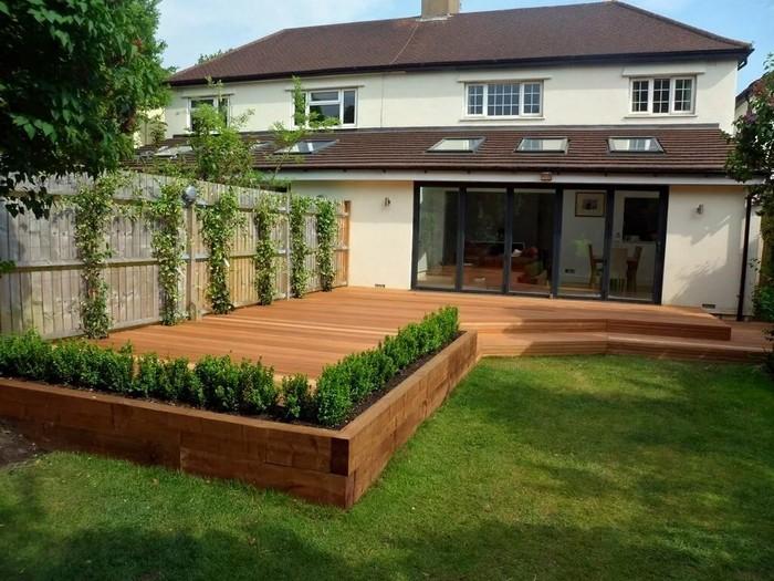 дизайн частного двора