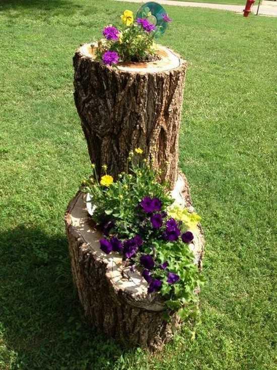 украшения для сада своими руками