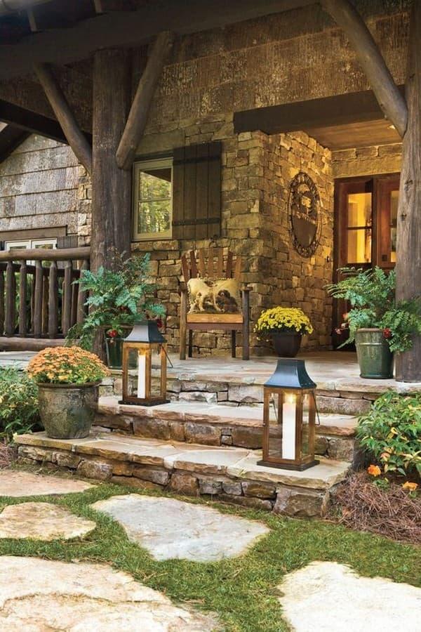 дизайн входа в дом