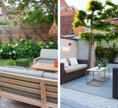 ландшафтный дизайн заднего двора