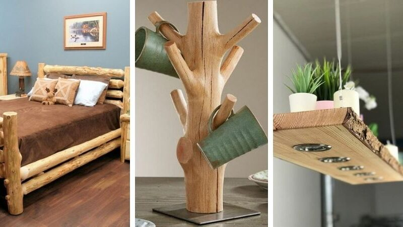 деревянный декор для дома