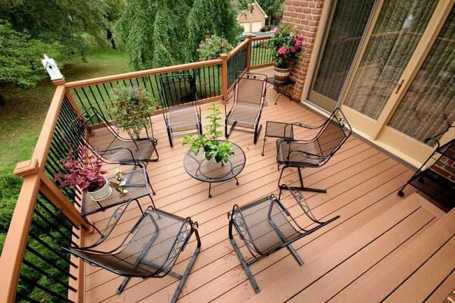 мебель для открытой террасы