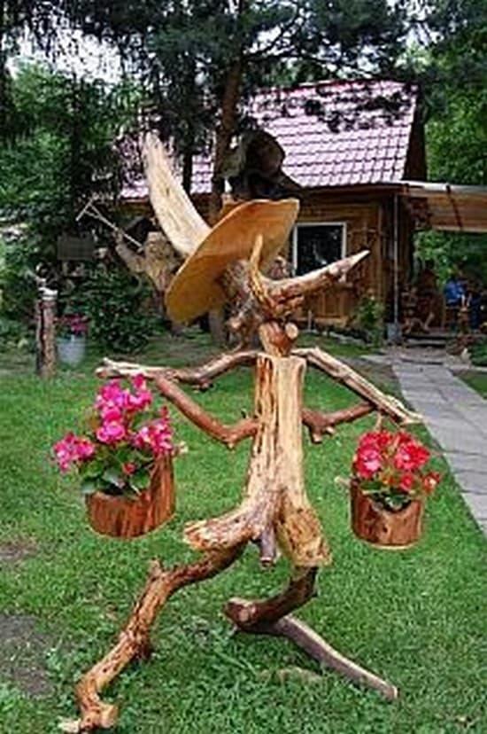 декор двора