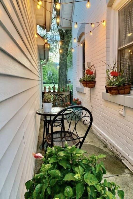дизайн двора пред домом