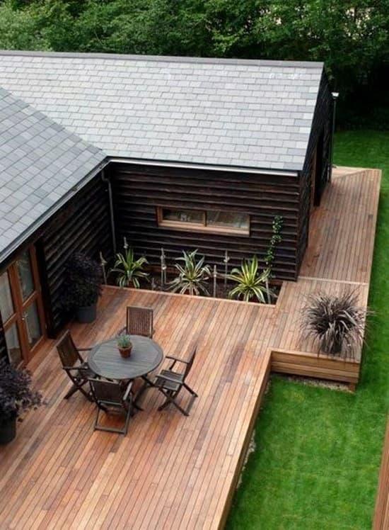 деревянная терраса к дому