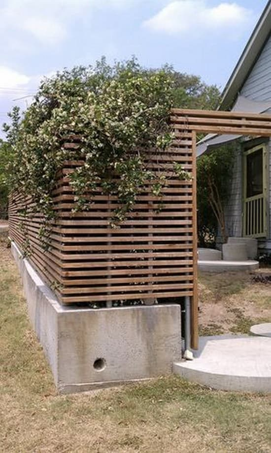 деревянная ширма